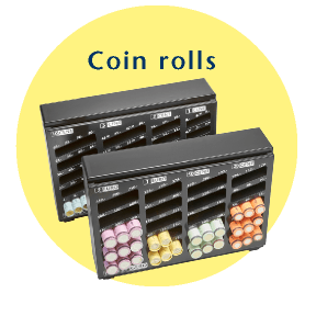 INKiESS supports counting of coin rolls
