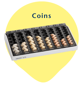 INKiESS supports counting of coins